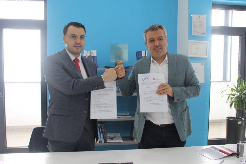 BKS dhe Universum nënshkruajnë Memorandum Bashkëpunimi