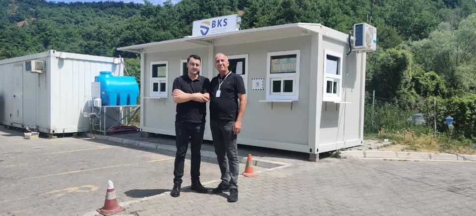 Drejtori i Byrosë Kosovare të Sigurimit (BKS) Sami Mazreku ka vizituar pikën kufitare Dheu i Bardhë